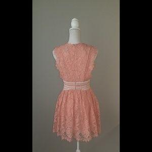 NBD Dresses - NBD Phoenix Dress in Blush